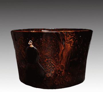 木製彫刻火鉢 古道具買取情報
