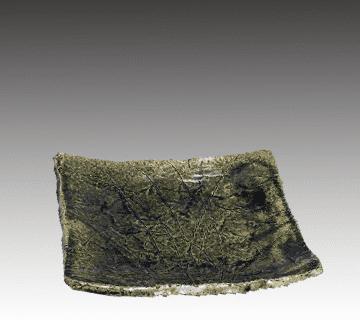 美濃焼:北大路魯山人作の角皿 陶器買取情報