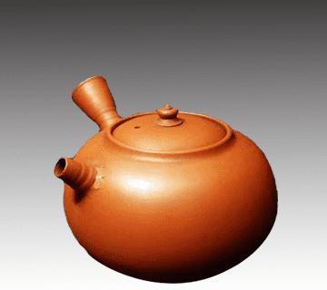 常滑焼:初代山田常山作の急須 陶器買取情報