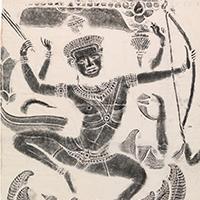 絵画の技法「フロッタージュ」について、歴史・特徴・有名作品を紹介