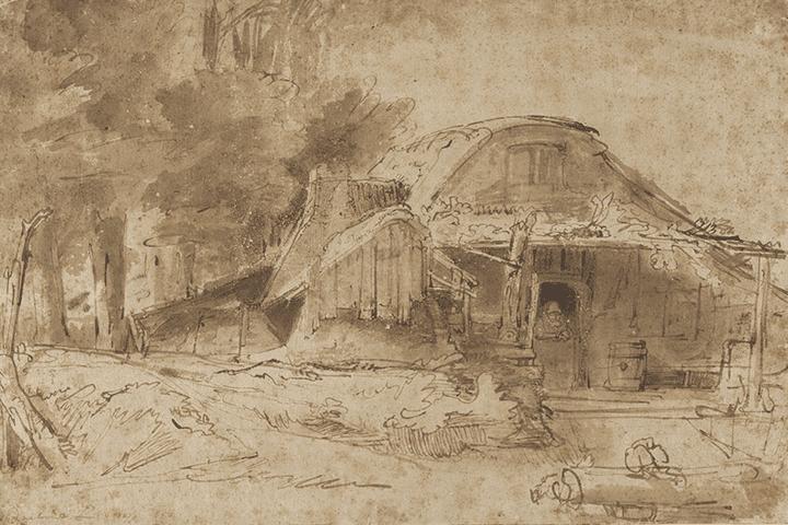 2:絵画の技法「ペン画」の特徴について
