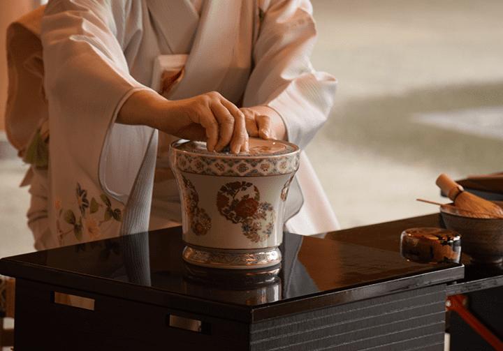 茶道における千歳盆の役割