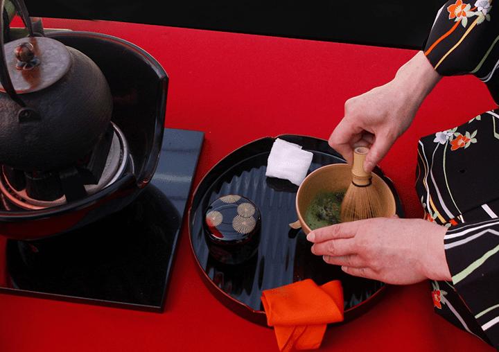 茶道具の一つ「山道盆」の概要
