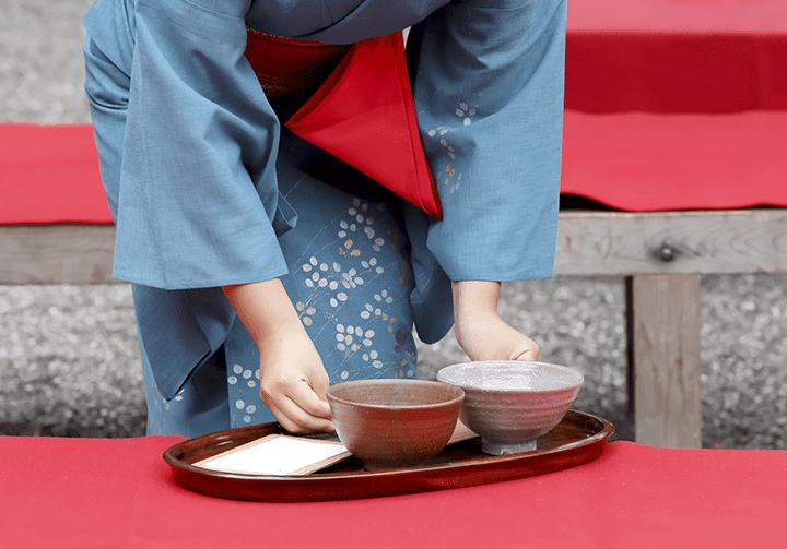 茶道における盆の役割