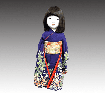 森重春幸(工房朋)作の日本人形