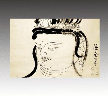 佐藤玄々作 神仏画