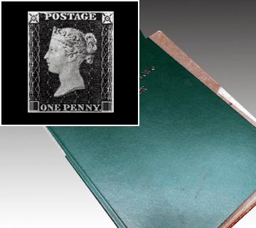 ペニーブラック等イギリス切手コレクション多数