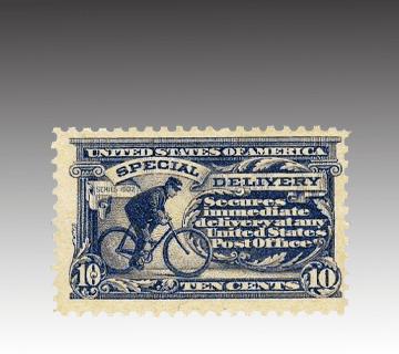 【外国切手】1911年速達切手(アメリカ)