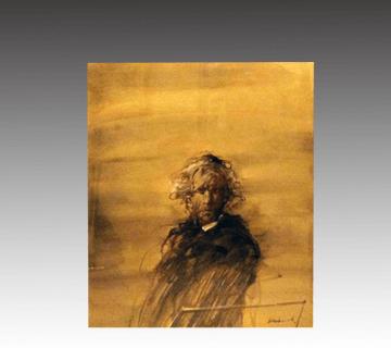 【西洋画】クロード・ワイズバッシュ作 油彩画