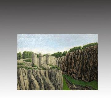 【西洋画】アンドレ・ボーシャン作 油彩画