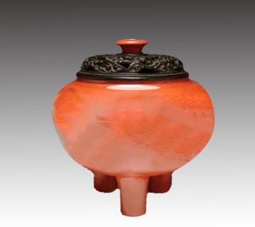 中国骨董 本珊瑚香炉