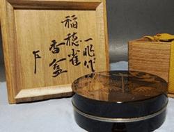 茶道具の香合についての説明