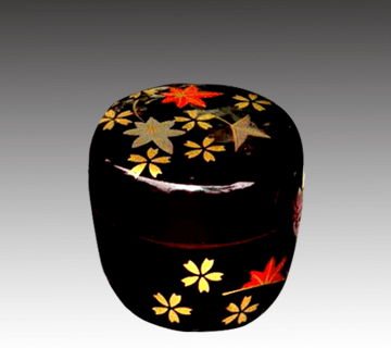 蒔絵棗(薄茶器)