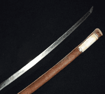 刀:無銘(軍刀拵え付