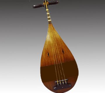 【和楽器】楽琵琶(雅楽琵琶)