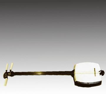 津軽三味線  紅木金細・子持ち綾杉彫り 和楽器買取情報